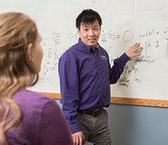 James Chen, Kansas State University assistant professor and Keystone Research Faculty Scholar in mechanical and nuclear engineering