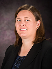 Katie Loughmiller, assistant professor, architectural engineering and construction science