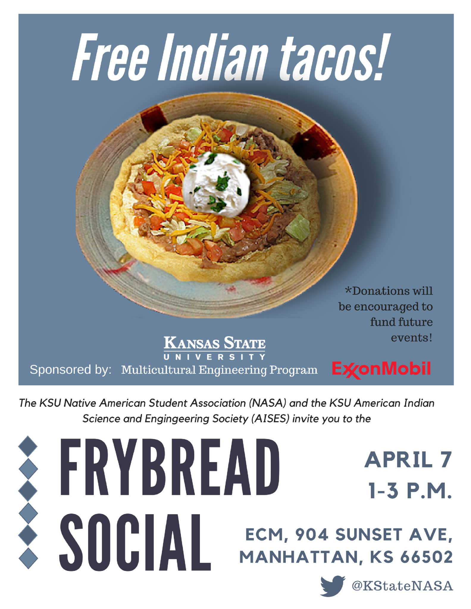 Frybread Social Flyer