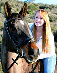Kate Rigby, a veterinary student at Kansas State University, is now a two-time recipient of a special scholarship for students who want to focus on equine health care.