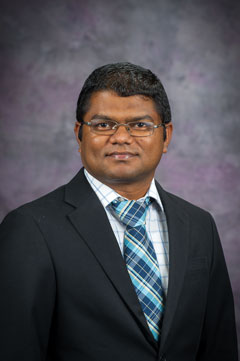 Suprem Das, assistant professor of industrial and manufacturing systems engineering