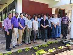 CVM faculty visit Sokoine University in Tanzania