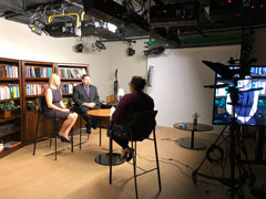 Jill Wood and David S. Allen are interviewed at Harvard.