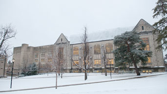 Snow at Hale/Quad
