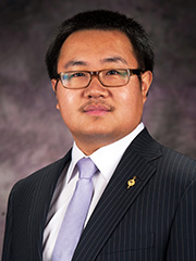 Peter Zhang, assistant professor of industrial and manufacturing systems engineering