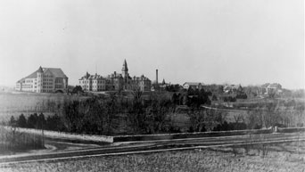 Kansas State Agricultural College in 1895