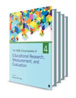 Sage Encyclopedia of Educational Research, Measurement, and Evaluation