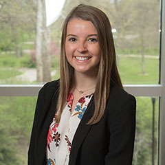 Abbie O'Grady, first place individual at the International Collegiate Sales Competition