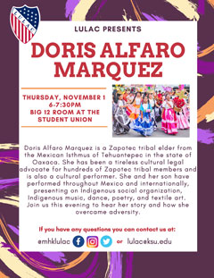 Kudos To Isthmus >> League Of United Latin American Citizens Presents Doris Alfaro Marquez