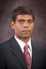 Jayendra Amamcharla, associate professor of food science.