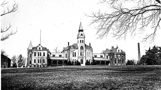 Anderson Hall in 1933