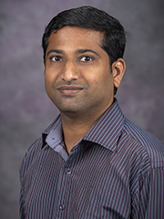 Prathap Parameswaran, assistant professor of civil engineering
