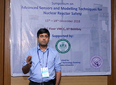 Hitesh Bindra, associate professor of mechanical and nuclear engineering