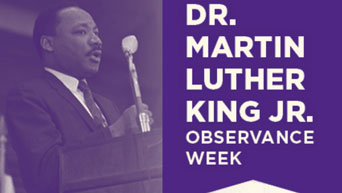 Dr. Martin Luther King Jr. Observance Week