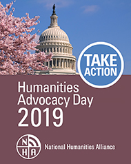Humanities Advocacy Day 2019 ad