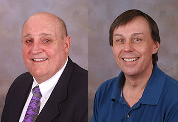 Photos of Dr. Peter Mudrack and Dr. Richard Ott