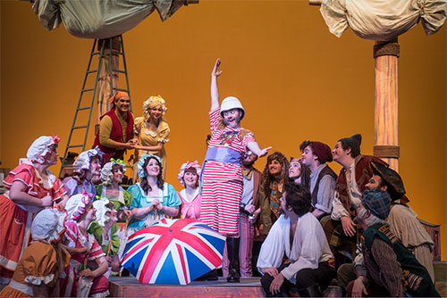 Pirates of Penzance production