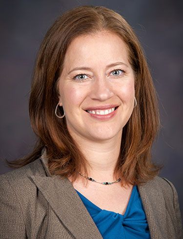 Jennifer Anthony, interim department head, chemical engineering