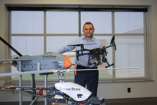 Tom Haritos, associate director of research and UAS research program manager at the Applied Aviation Research Center on the Polytechnic Campus, has co-authored an article on small UAS for the Journal of Aviation Technology and Engineering.