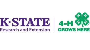 KSRE 4-H Grows Here Logo