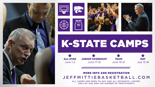 K-State Women's Basketball Camp Announcement
