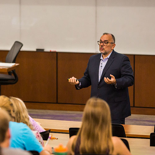 Avocados from Mexico president and CEO visits College of Business  Administration...