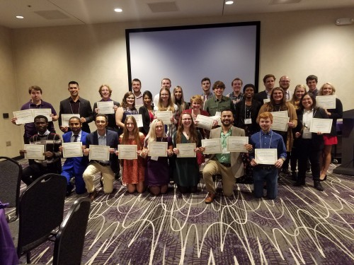 Geology Scholarship Recipients 2019