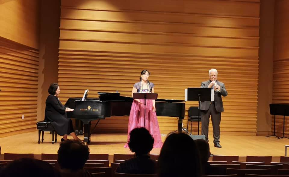 "Performance of Young Jo Lee's ""Dear Mummy and Sister"" at the 2020 Composition in Asia Symposium and Festival"