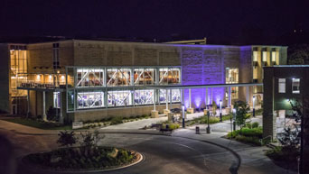 K-State Student Union at night