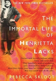 Immortal Life of Henrietta Lacks book cover