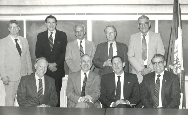 Founders of the Kansas Cooperative Fish and Wildlife Research Unit
