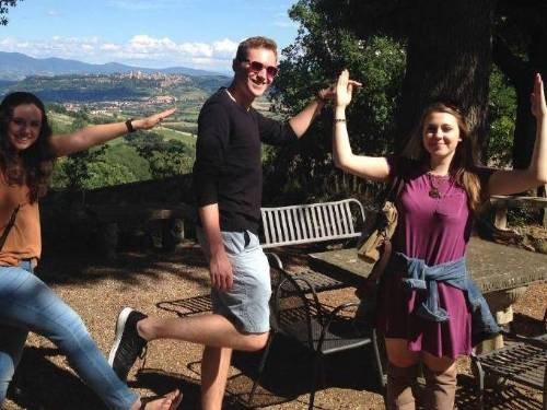 K-State Students in Orvieto, Italy