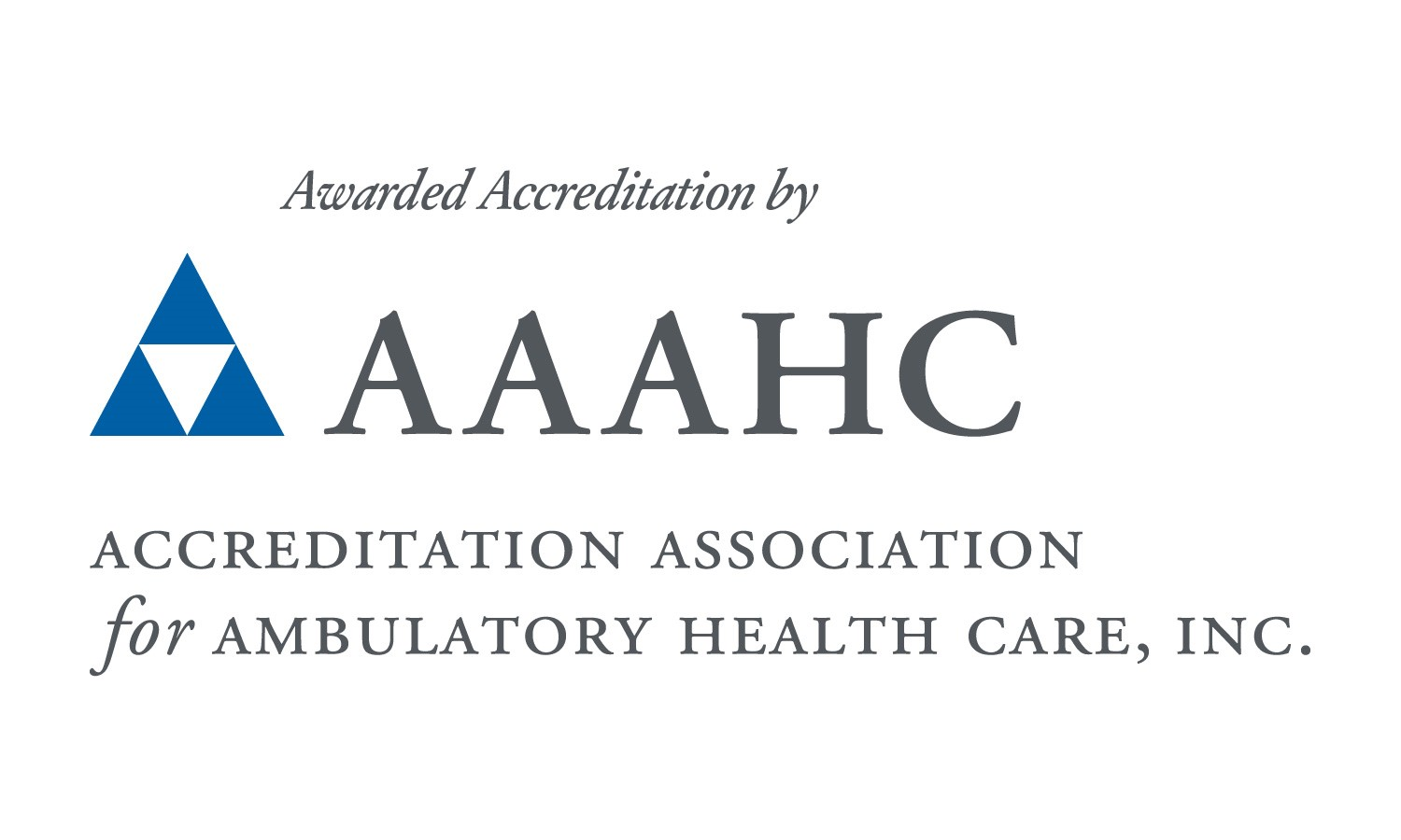 AAAHC Accreditated