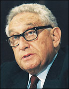 Secretary Henry Kissinger
