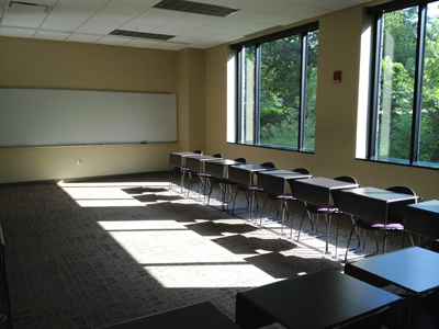 Room 112 at K-State's Leadership Studies Building