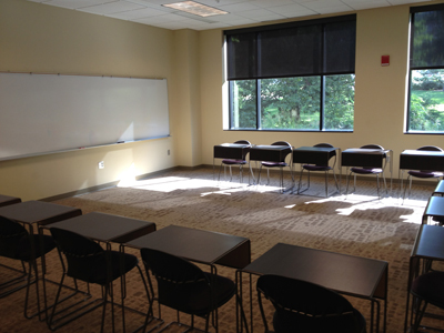 Room 113 at K-State's Leadership Studies Building