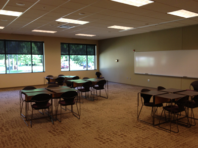 Room 126 at K-State's Leadership Studies Building