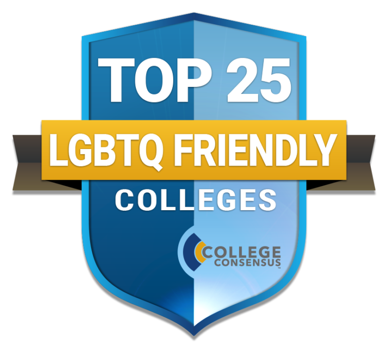Top25 LGBT Friendly Campus Logo