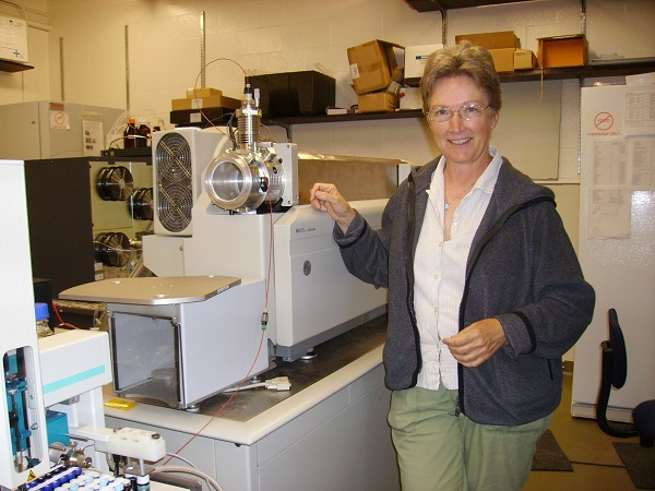 Mary Roth and the QTrap Mass Spec