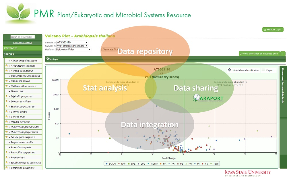 Plant/Eukaryotic and Microbial Systems Resource (PMR)