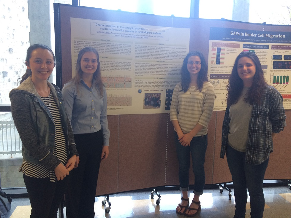 KLRC Undergrads at the Division of Biology Research Forum