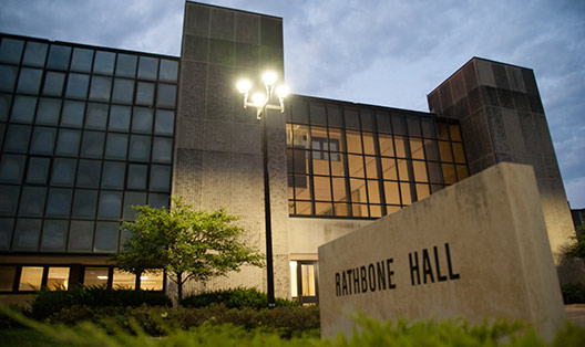 K State Campus Map Rathbone Hall