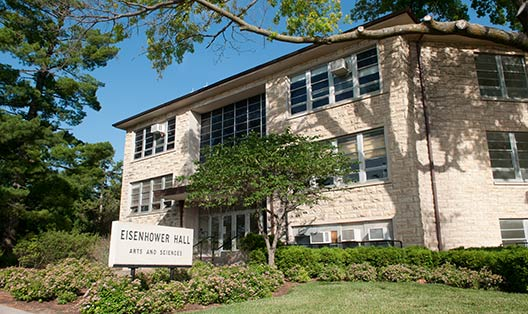 Photograph of Eisenhower Hall