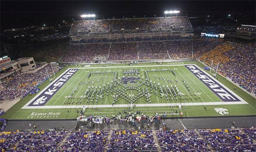Photograph of Bill Snyder Family Stadium