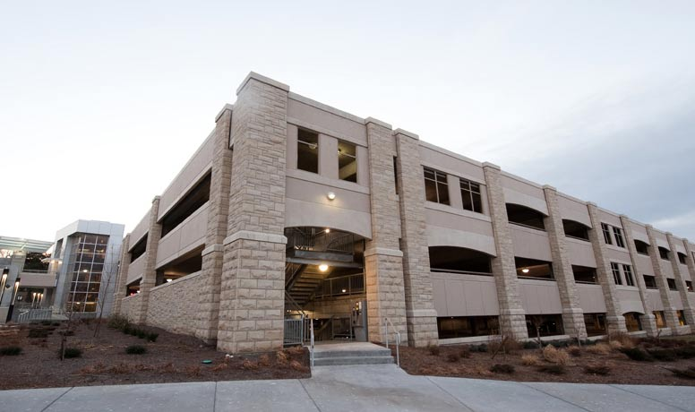 Photograph of K-State Parking Structure