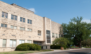 Photograph of Shellenberger Hall