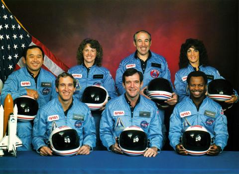 Challenger Space Shuttle Crew