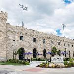 The Berney Family Welcome Center is the front door to all things K-State, including campus tours, New Student Services, and the Career Center. The Berney Family Welcome Center is located on the east side of Memorial Stadium, a monument built in 1924 to honor the K-State students and alumni who lost their lives while serving in World War I.