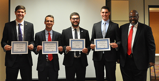 Kansas State University Union Pacific Case Competition team