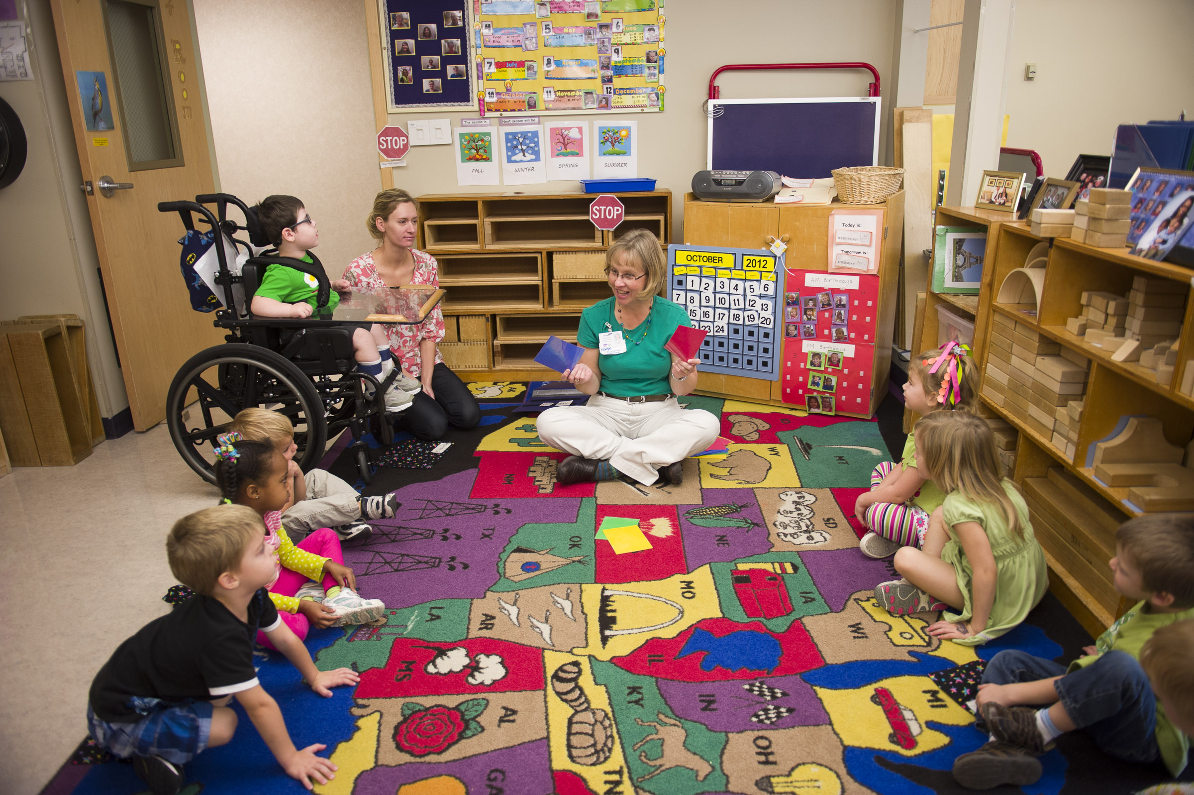 Classroom Design In Early Childhood ~ Kansas state university child development scholar suggests
